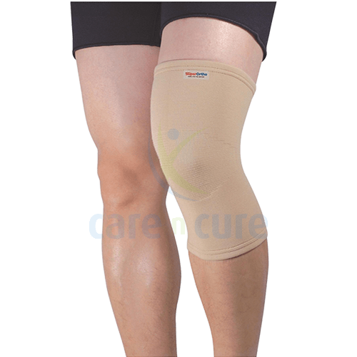 buy-super-ortho-elastic-knee-support-beige---a7-002-(m)-care-n-cure-pharmacy-qatar