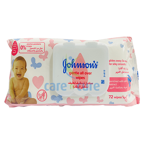 buy-johnson-s-gentle-clensing-wipes-72s-care-n-cure-pharmacy-qatar