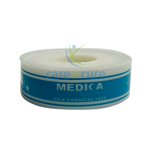 buy-medica-silk-surgical-tape-1.25cm-x-5y-with-cover-care-n-cure-pharmacy-qatar