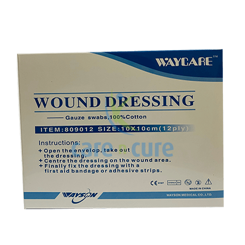 buy-waycare-gauze-swab-10x10cm-30s-#809012-care-n-cure-pharmacy-qatar