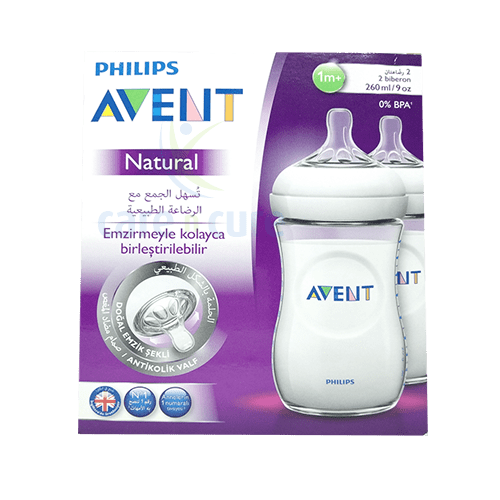 buy-philips-avent-nat-feed-bot-2-x-260ml-61965-care-n-cure-pharmacy-qatar