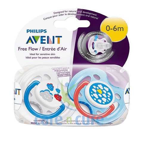 Philips Avent Soother Sil 0-6M 43299