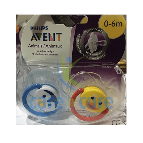 buy-philips-avent-soother-sil-0-6m-animal-4433-care-n-cure-pharmacy-qatar