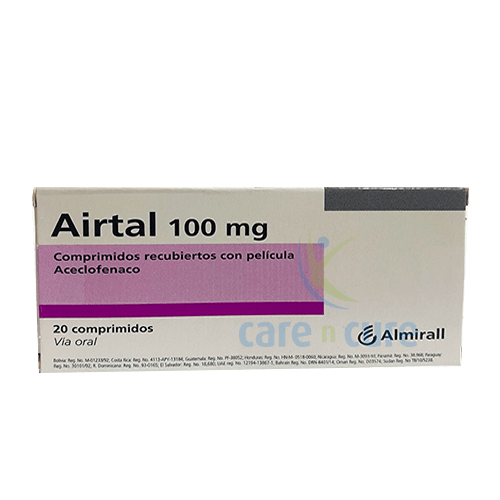 Airtal 100mg Tablet 20S