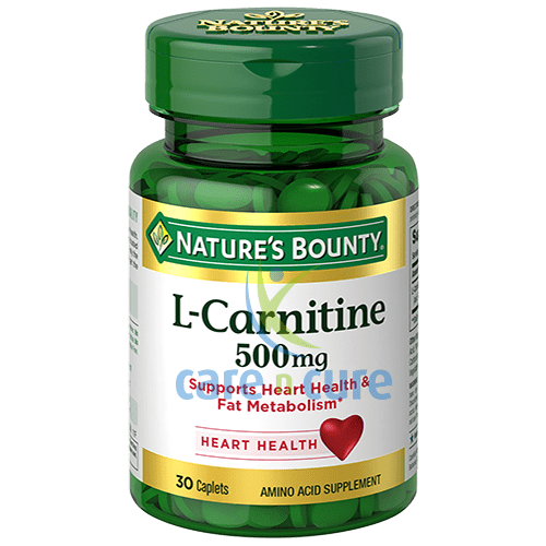 buy-nature-s-bounty-l--carnitine-500mg-tab-30-s-care-n-cure-pharmacy-qatar
