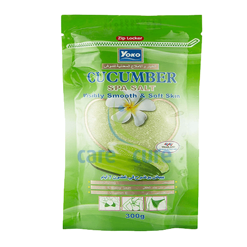 Yoko Spa Salt Cucumber-300gm Y417