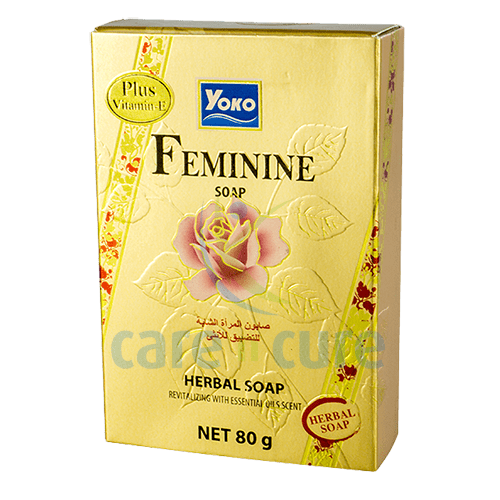 Yoko Herbal Feminine Soap-80G  Y026