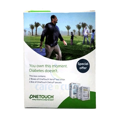 One Touch Verio Lancet + 2 Strips (Offer)