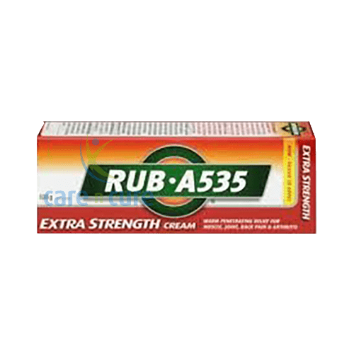 Rub A535 Extra Strength Heating Cream 100gm