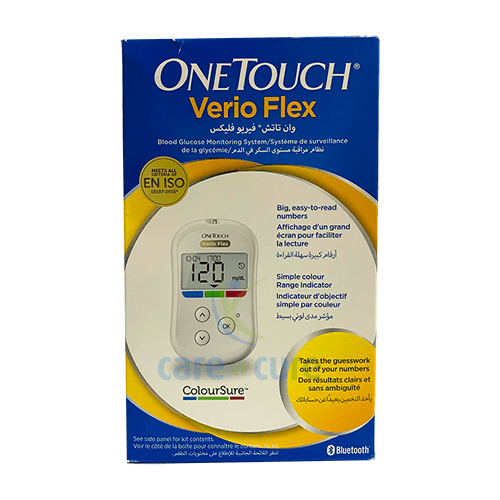 buy-one-touch-verio-flex-with-bluetooth-system-care-n-cure-pharmacy-qatar