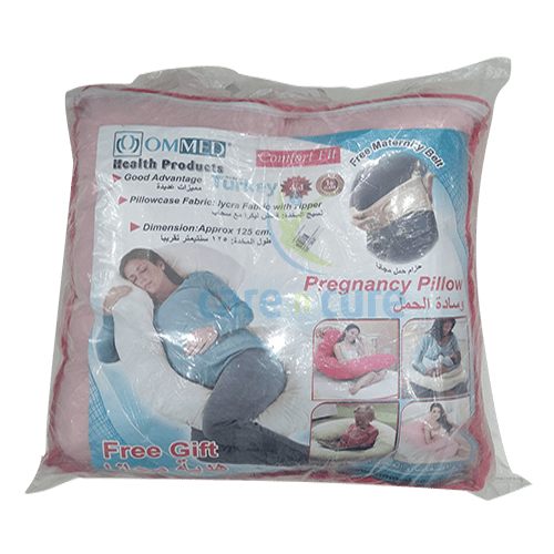 buy-ommed-u-shape-pregnant-pillow-with-pink-belt-care-n-cure-pharmacy-qatar
