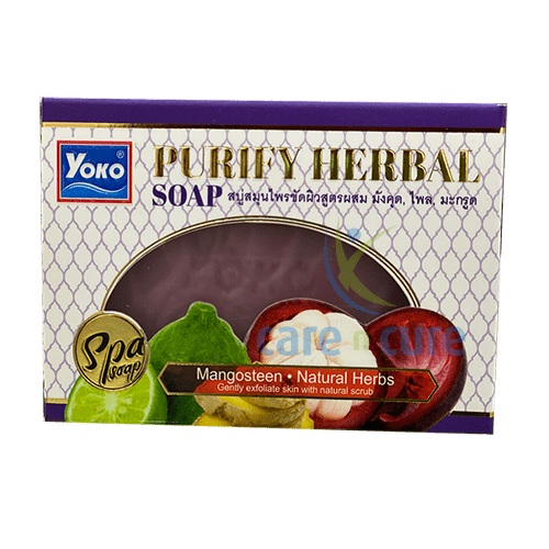 Yoko Purify Herbal Soap 120gm Y649