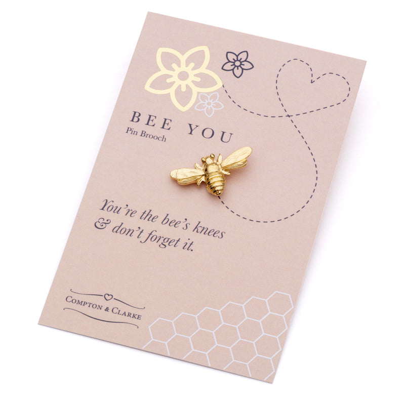 Bee You Pin Brooch
