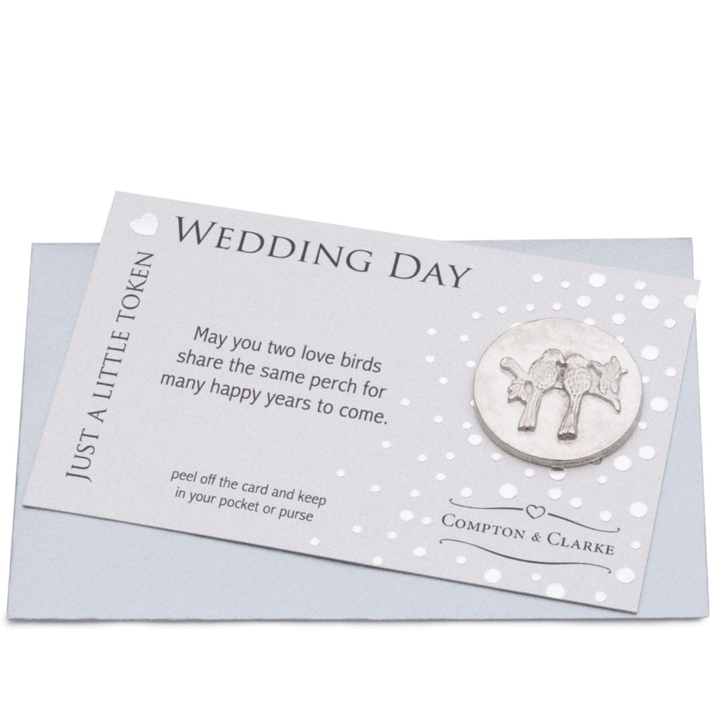 Wedding Day Carded Charm