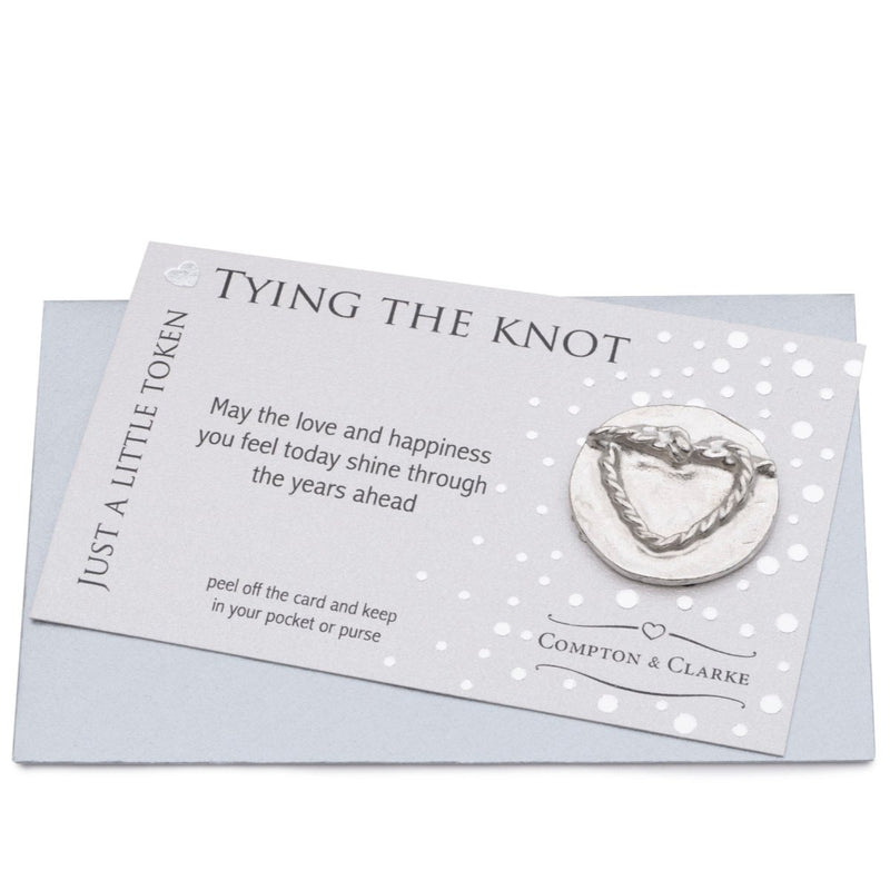 Tying the Knot Carded Charm