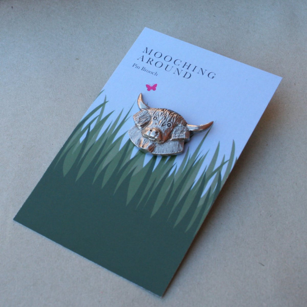 Mooching Around Pin Brooch
