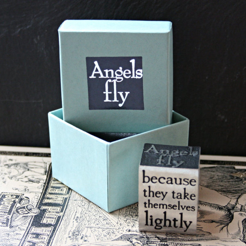 Angels Fly Paperweight