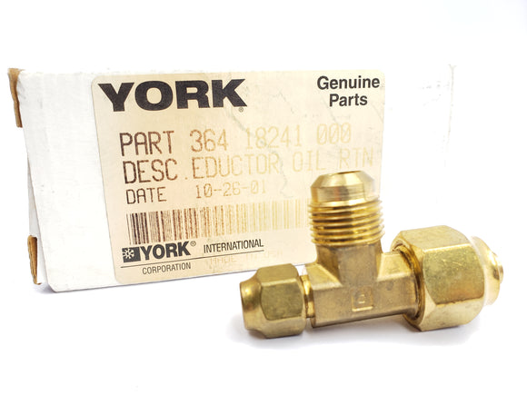 YORK 364-18241-000 / 36418241000 OIL RETURN EDUCTOR