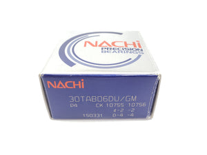 NACHI 30TAB06DU/GM P4 PRECISION BEARINGS (PAIR)
