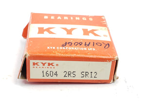 KYK 1604 2RS SR12 BALL BEARING