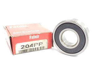 FAFNIR 204PP (P204PP) DEEP GROOVE RADIAL BALL BEARING (SMALL RUST)