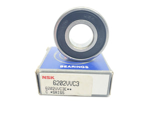 NSK 6202VVC3 DEEP GROOVE RADIAL BALL BEARING