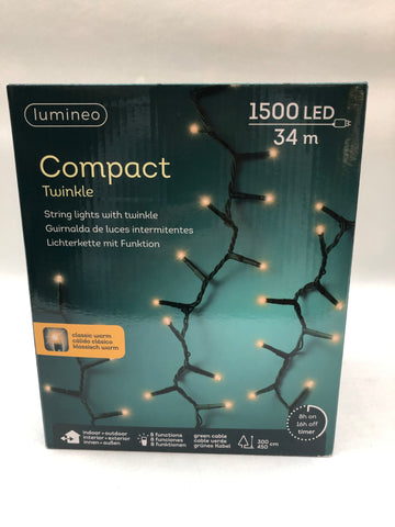 Lumineo compact twinkel klassiek warm