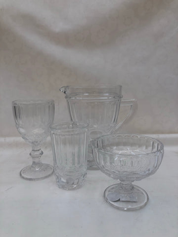 Assortiment glas reliëf (T2)