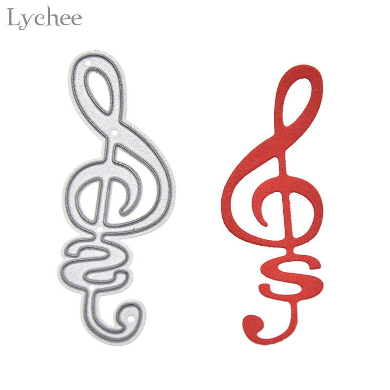 Musical Note Cutting Dies For DIY Scrapbooking Embossing Folder Stencil