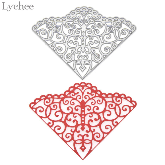 Sector Corner Metal Die Cutting Dies Stencils For DIY Scrapbooking Album Embossing
