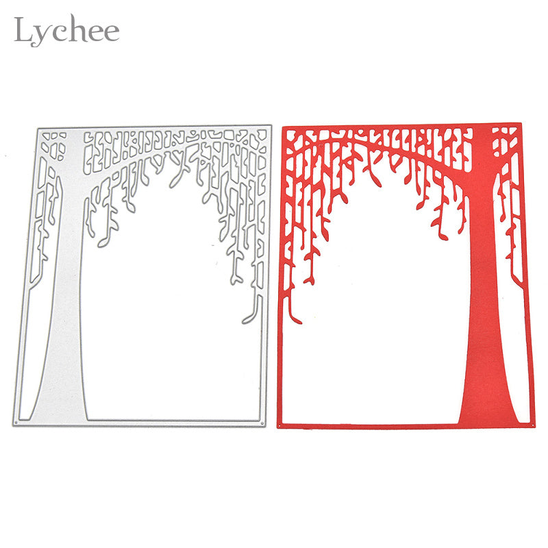 Willow Branches Metal Cutting Dies Stencils DIY Scrapbooking Album Template