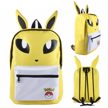 Pokemon backpack Jolteon
