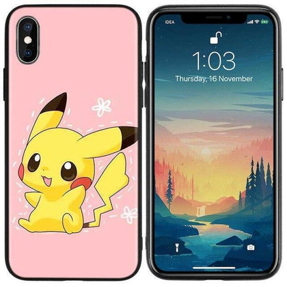 pikachu iphone phone case