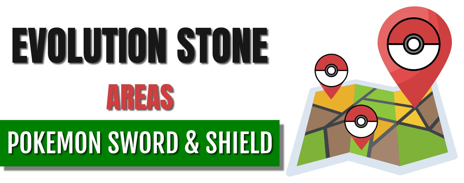 Ensured Evolution Stone areas in Pokémon Sword and Shield