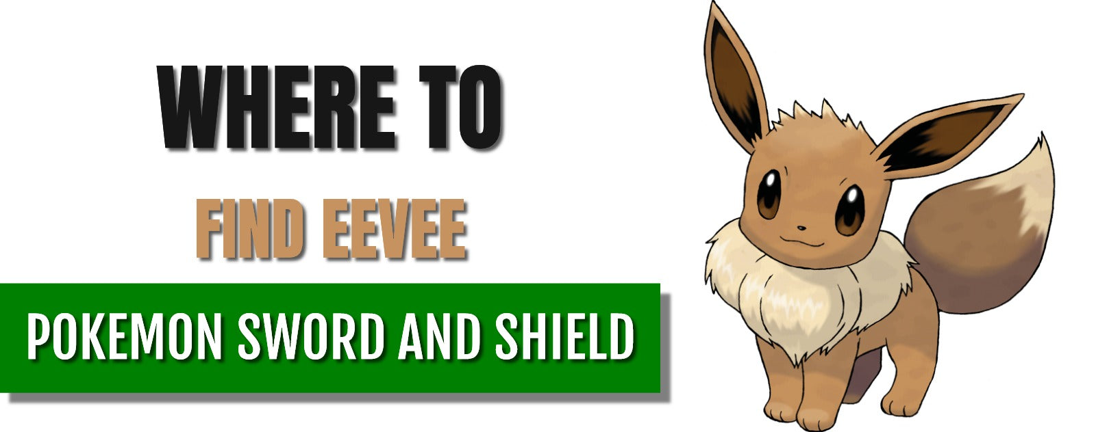 Where to find Eevee in Pokémon Sword and Shield