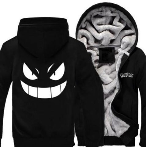 Pokemon-gengar-jacket-black
