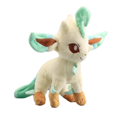 Pokemon leafeon plush