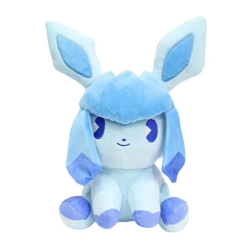 Glaceon plush sitting