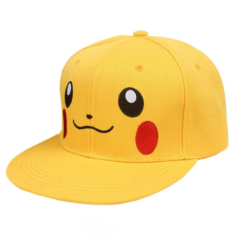 Pokemon baseball cap Yellow Pikachu