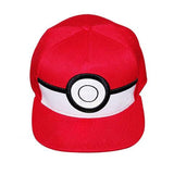 Pokeball baseball cap front view