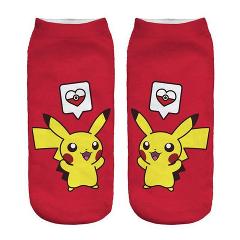 womens pikachu socks