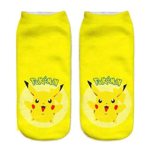 Pokemon socks <br> Happy Pikachu | Pokemon Faction