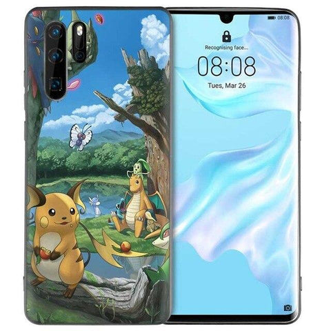 Pokemon phone case Huawei Natural Park