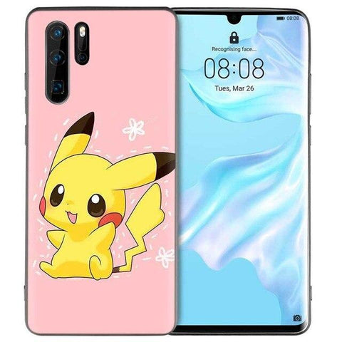 Pokemon phone case Huawei Cute Pikachu