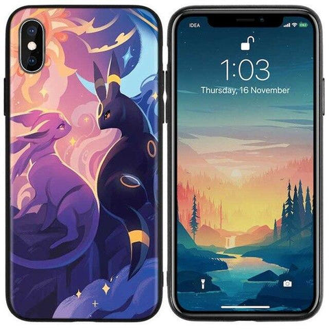 Pokemon phone case iPhone Espeon Umbreon