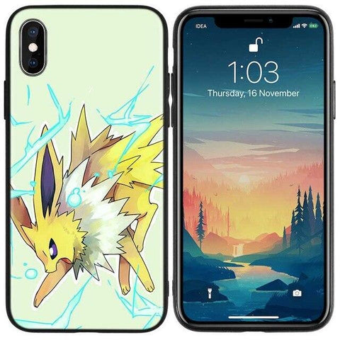 Pokemon phone case iPhone Jolteon