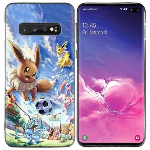 Pokemon phone case Samsung Eevee Football