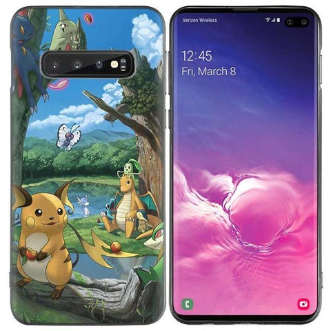 Pokemon phone case Samsung Natural Parc