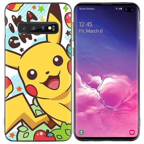 Pokemon phone case <br> Samsung Happy Pikachu | Pokemon Faction