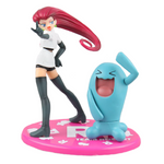Pokemon figure Jessie and Wobbuffet